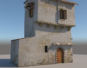 3D model Old House persia