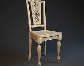 3D model Shabby Chair Hooker