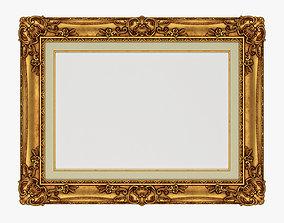 Frame picture gold v3 architectural 3D