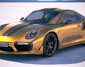 Porsche 911 Turbo S Exclusive Series 3D model