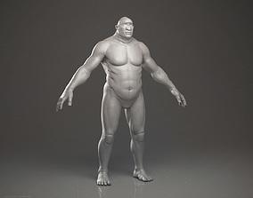 3D Cyclops - Highpoly Sculpture