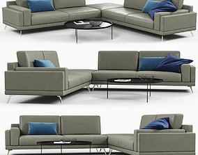 3D Doimo Salotti Huber sofa