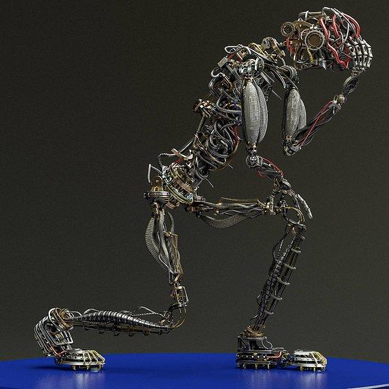 Mecha Humanoid