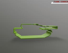 3D print model PBR Tank Coockie Cutter