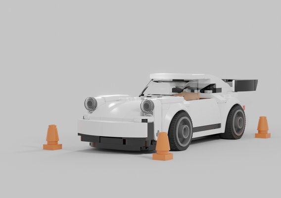 Lego Porsche 911