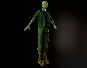 3D model Clothing Set 10