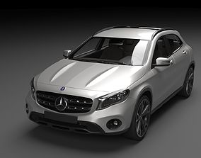 Mercedes Benz GLA AMG 2018 3D model