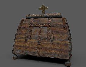 3D asset Medieval Mediecine Box