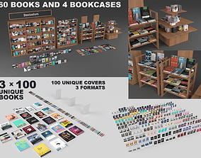 3D model Books and magazines or journals collection