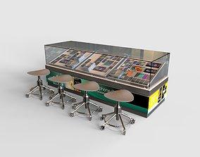 3D model Storefront Smartphone Shop