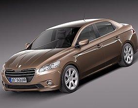 3D model Peugeot 301 2013