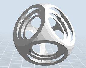 3D print model Simple gyroscope