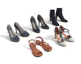 3D Women Shoes 3
