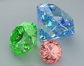 3D model realtime Diamonds