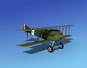 SPAD VII 3D animated