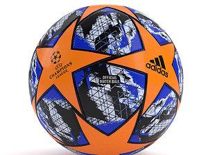 UEFA CHAMPIONS LEAGUE FINALE 19 Ball 3D asset