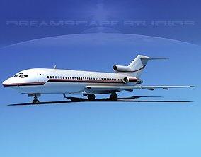 Boeing 727-100 Corporate Jet 4 3D model