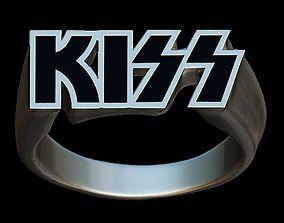 Kiss fan ring 3D print model