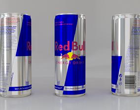 Red Bull Energy Drink 3D