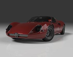 3D model Alfa Romeo 33 Stradale