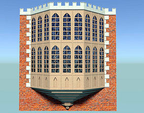 3D Tudor bay window