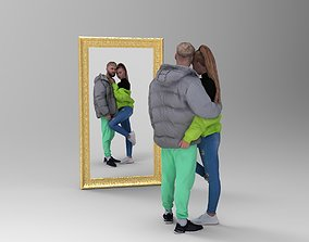3D mirror picture frame