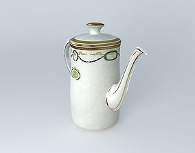 TITANIC 1st Class Coffee Pot Relic. 3D model