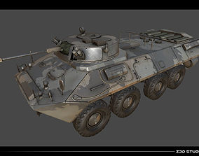 APC BTR-90 3D asset realtime