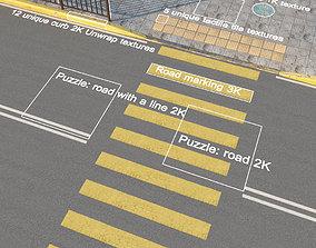 Sity street 3D model