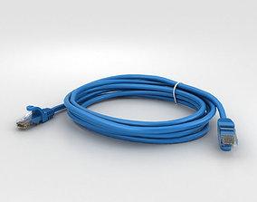 3D model Ethernet Cable