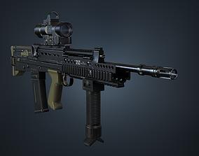 SA80 a2 Rifle 3D asset