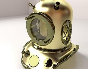 Diving Helmet 3D