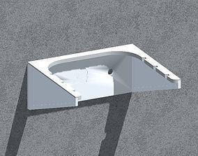 dining 3D printable model Wall bracket -