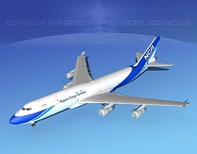 3D model Boeing 747-8I All Nippon Cargo