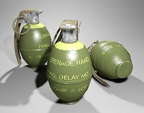 M26A1 Grenade 3D asset
