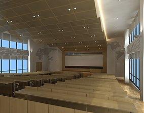 presentation Ladder Classroom 3D model