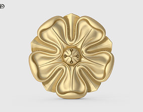 3D printable model Carved Rosette