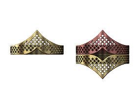 Moroccan beldi moucharabieh ring 3D print model 1
