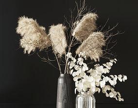 Dry bouquet 02 3D model