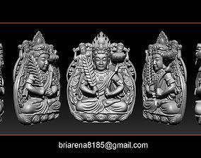 Pendant Guanyin Bodhisattva bodhisattva 3D print model