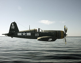 Chance Vought F4U Corsair 3D model