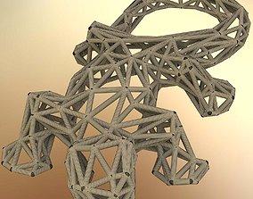 Lizard design 3D print model