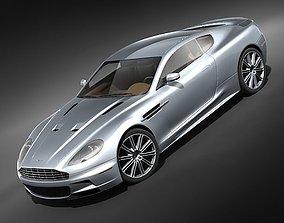 3D model Aston Martin DBS 2009