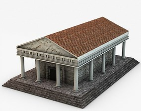 3D Classical temple