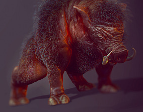 boar predator 3D