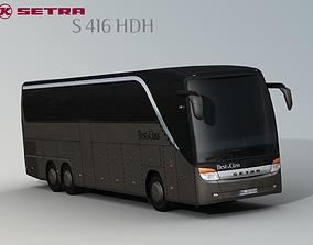 SETRA S 416 HDH Bus-Coach 3D model