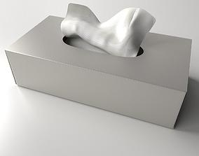 Tissue Box handkerchief 3D model