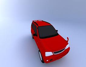 transportation Toyota Cami 2000 3D
