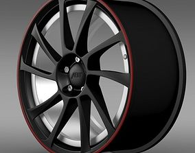 VW Beetle ABT 2012 rim 3D model