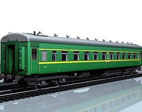 3D asset Wagon type 66W PNR
